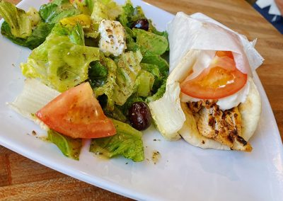 Chicken-Pita-Greek-Salad